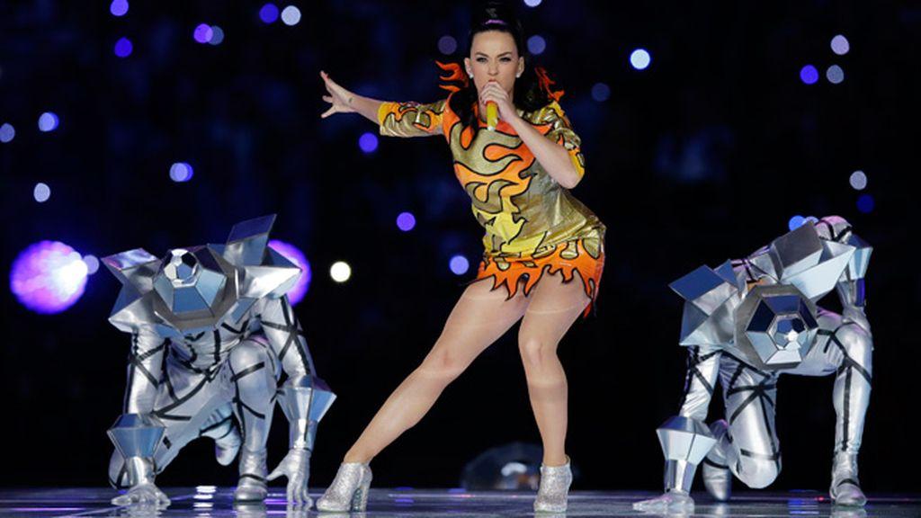 Katy Perry, estrella de la noche