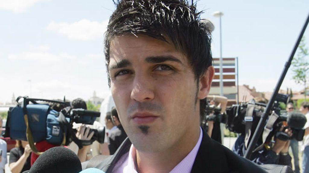 David Villa, el gran goleador, dentro y fuera del campo