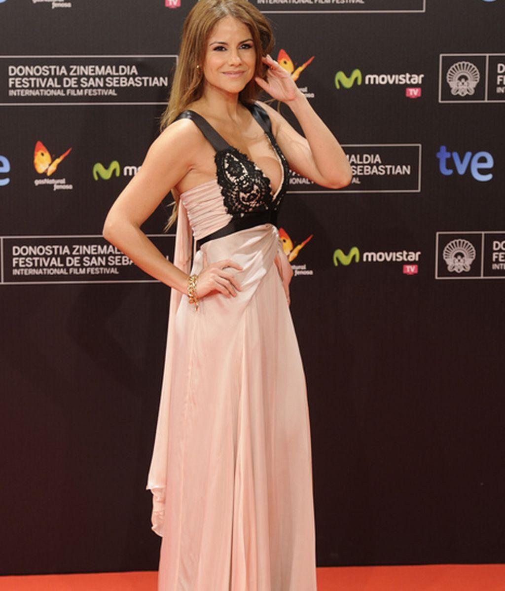 La actriz Mónica Hoyos