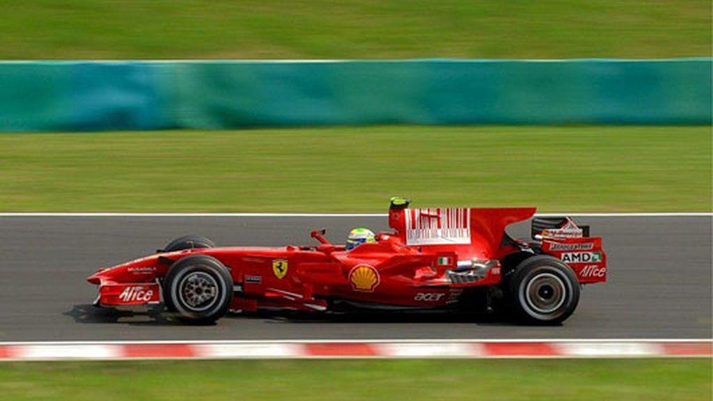 Massa no pudo pasar de la tercera posición