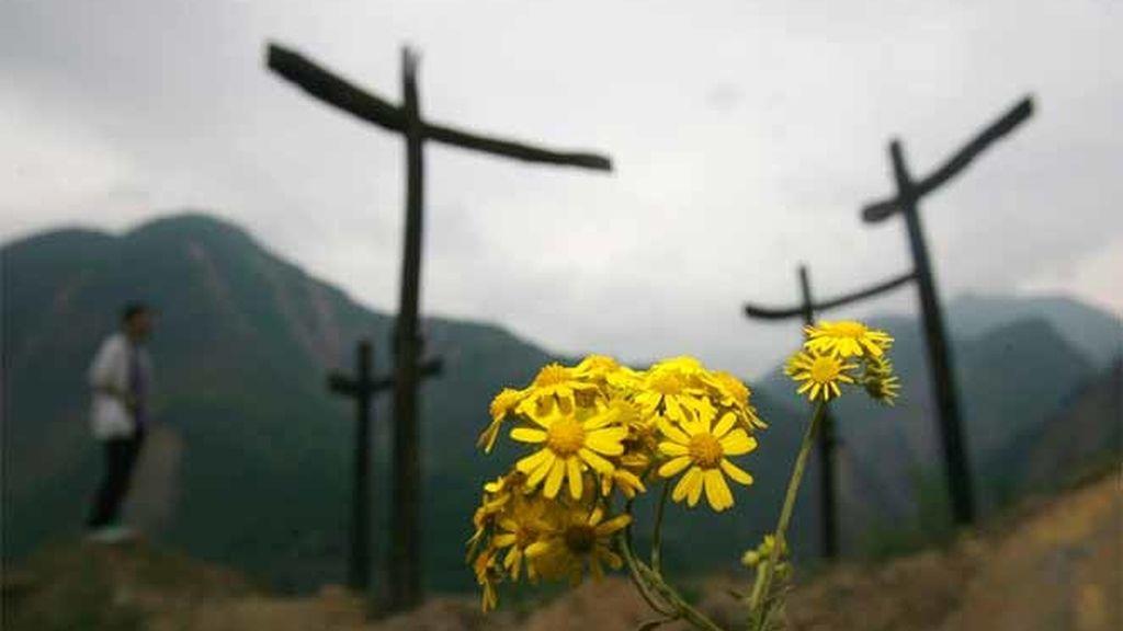 Primer aniversario del terremoto de Sichuan