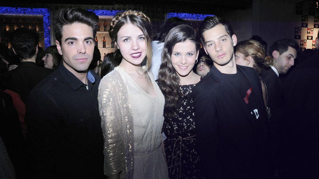 Marc Suárez, Andrea Guasch, Sandra Blázquez y Joel Bosqued