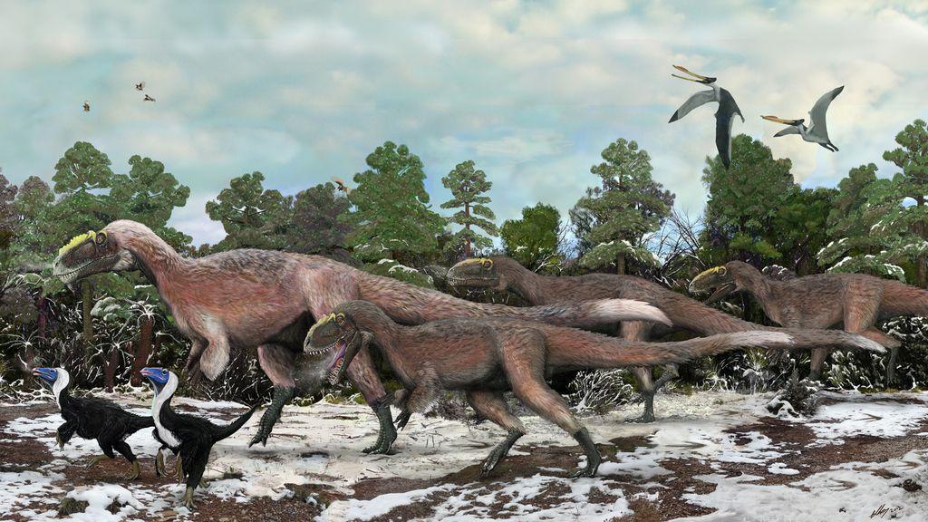 ¿Por qué los dinosaurios evitaron los trópicos durante 30 millones de años?