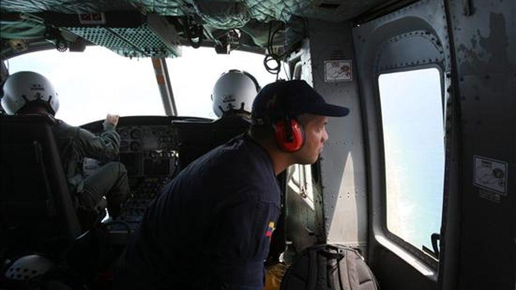 Las brigadas de esta instancia estatal, con apoyo del Grupo de Rescate Angostura y del Servicio Emergencias 171, buscan la avioneta Cessna C182 Skylane desaparecida. EFE/Archivo