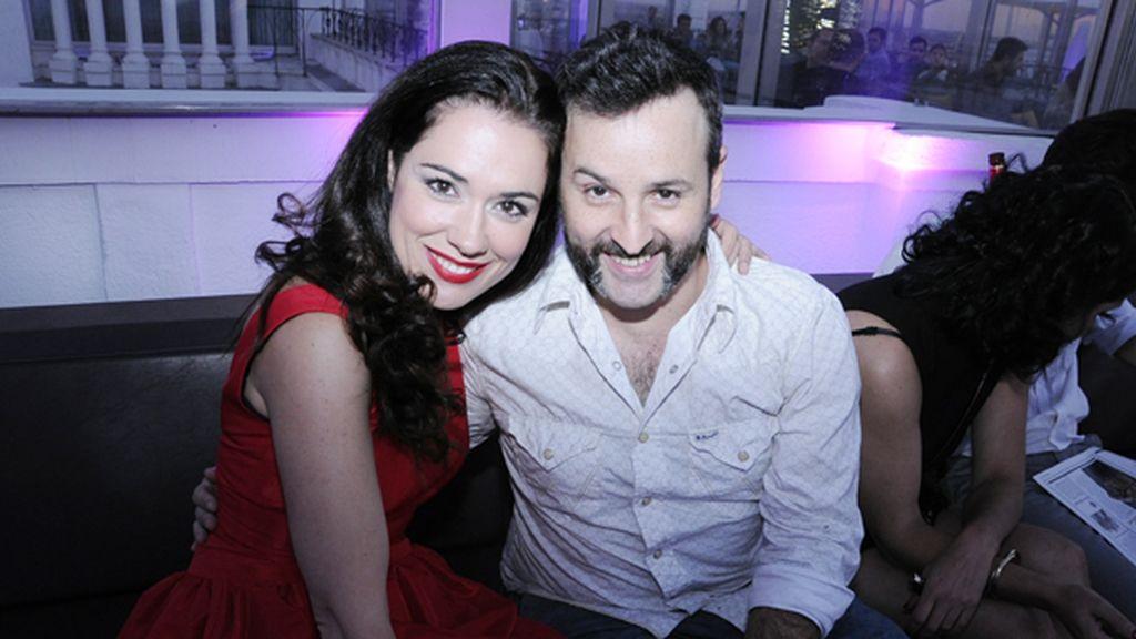 Eva Marciel junto a José Luis Huertas