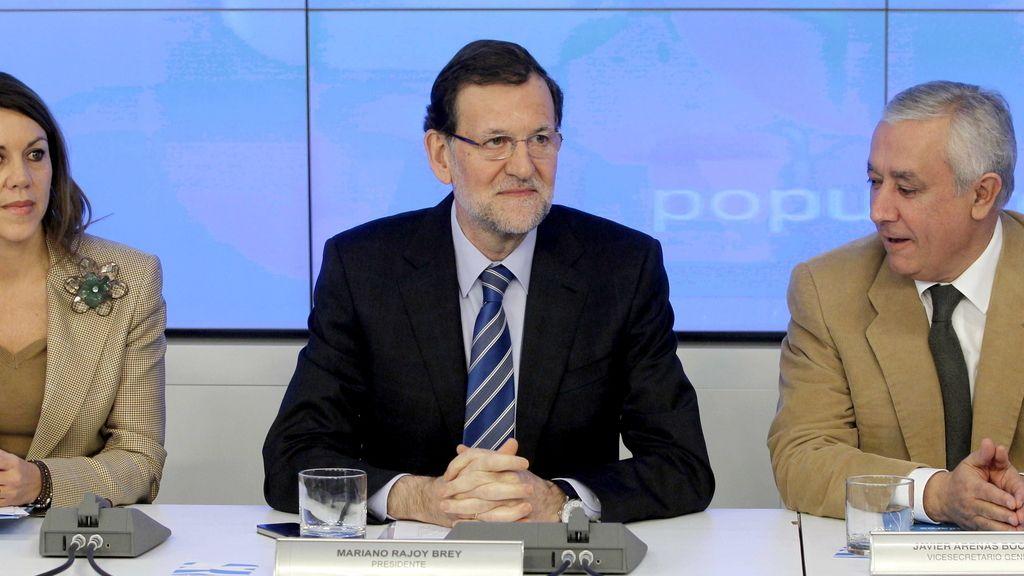 Rajoy Comité. Foto: EFE