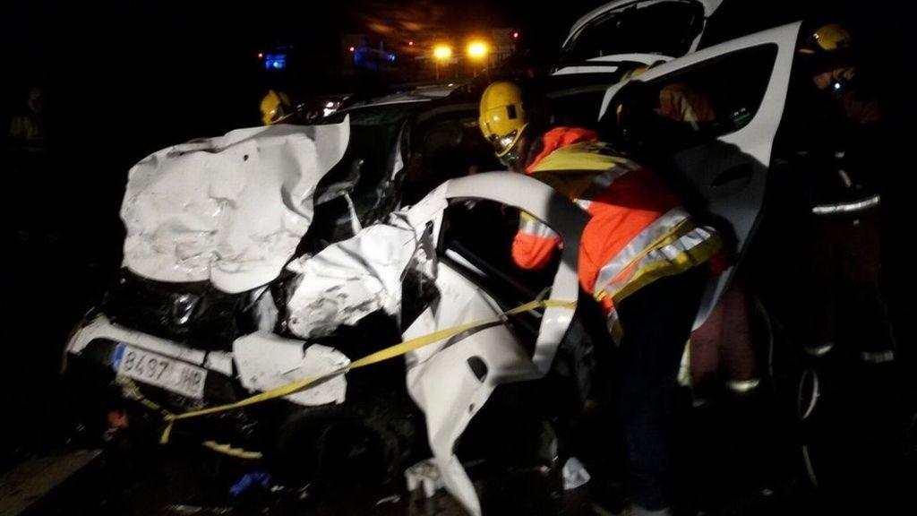Siete muertos en un accidente en la N-II en la localidad gerundense de Figueres