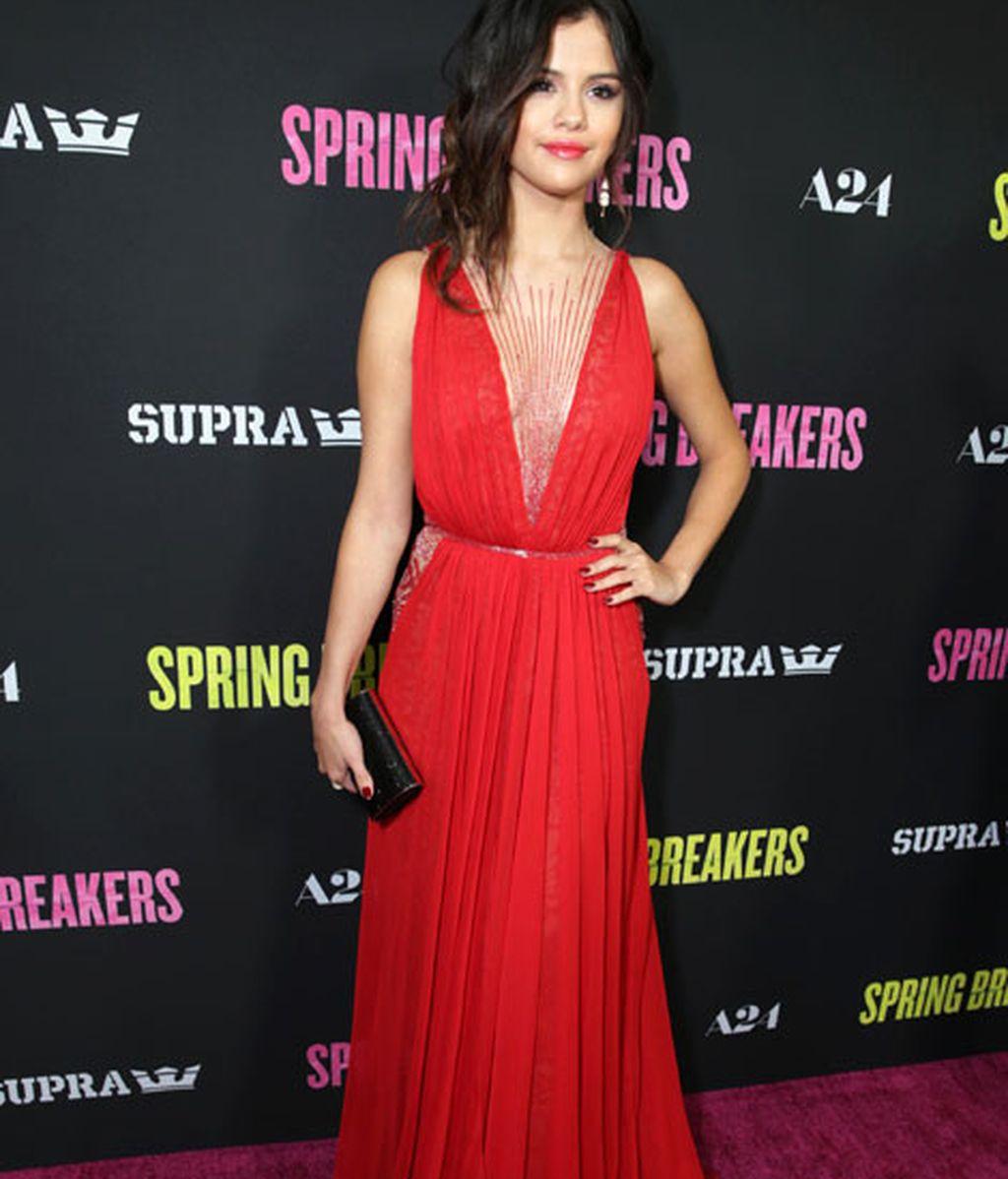 La actriz Selena Gómez