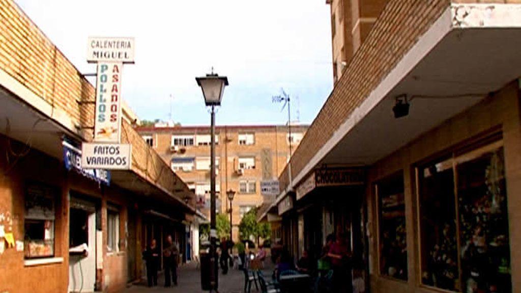 Una de las calles de Rochelambert