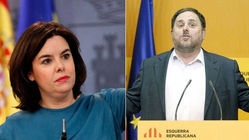 Santamaría y Junqueras se reúnen tras los acuerdos para evitar recursos en tres leyes