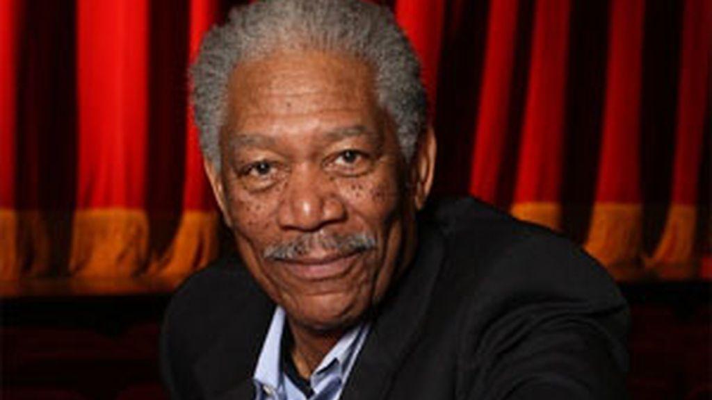 Morgan Freeman en una imagen de archivo. Foto: AP.