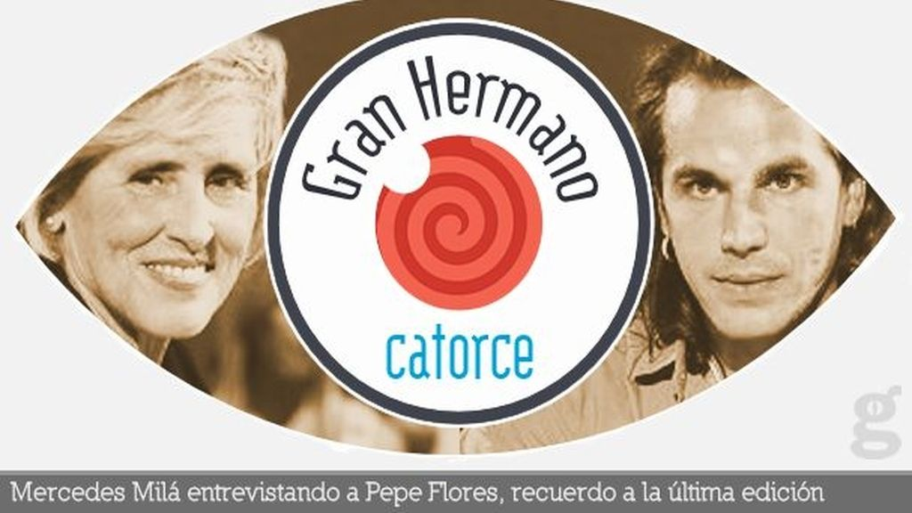 Mercedes Milá entrevistando a Pepe Flores, recuerdo a la última edición