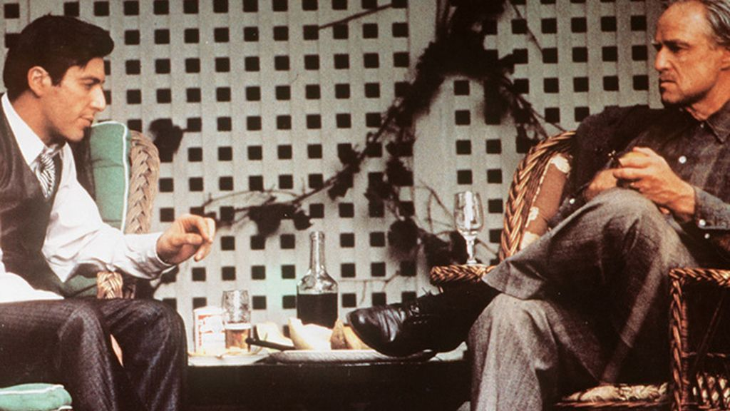 Escena final de 'El Padrino' de Francis Ford Coppola