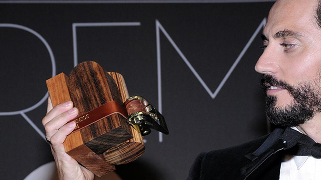 Paco León recogió el premio al personaje más carismático