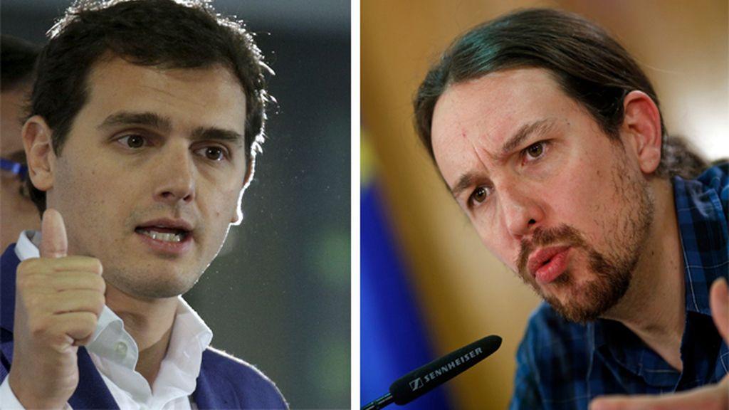 Pablo Iglesias, el candidato con más seguidores en Twitter y  Rivera, en Facebook