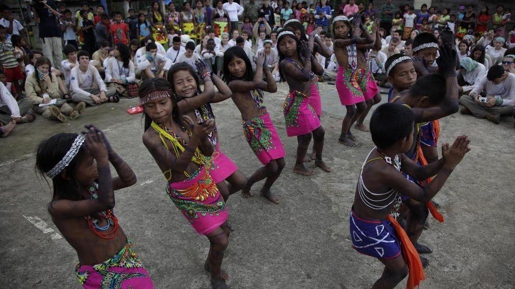 Danzas tradicionales de los wounaan