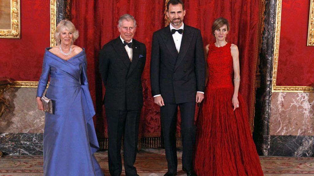 Los looks del España-Inglaterra diplomático