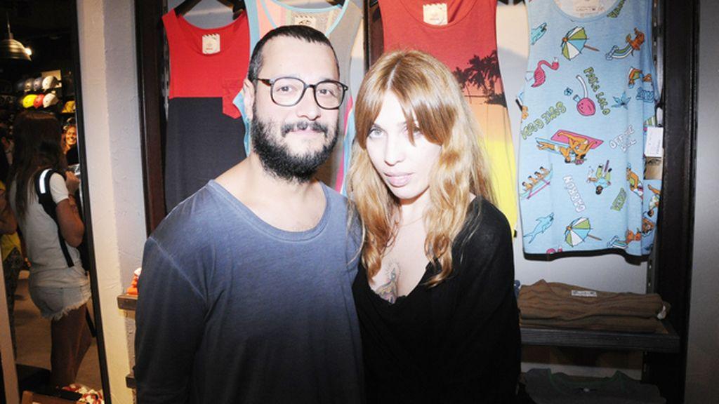 Xavi García y Susi Hache, de Salón 44