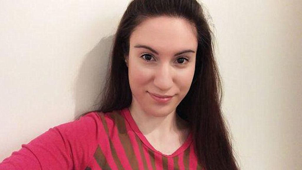 Joanna Giannouli sufre el síndrome de Rokitansky