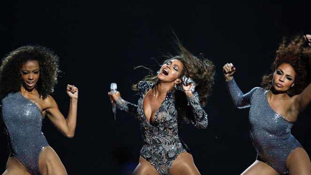 Beyoncé en los premios MTV