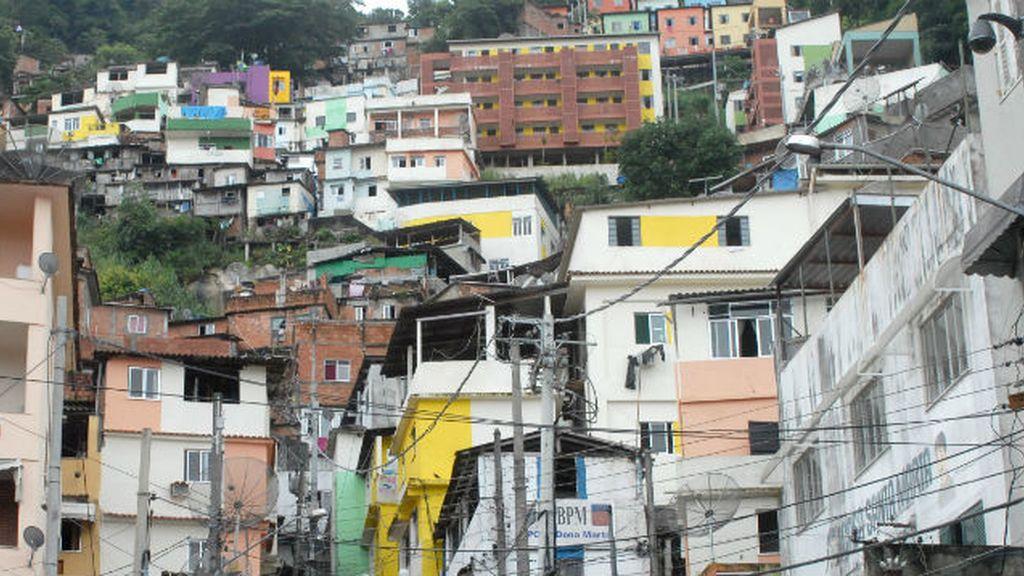 Favela en Río de Janeiro