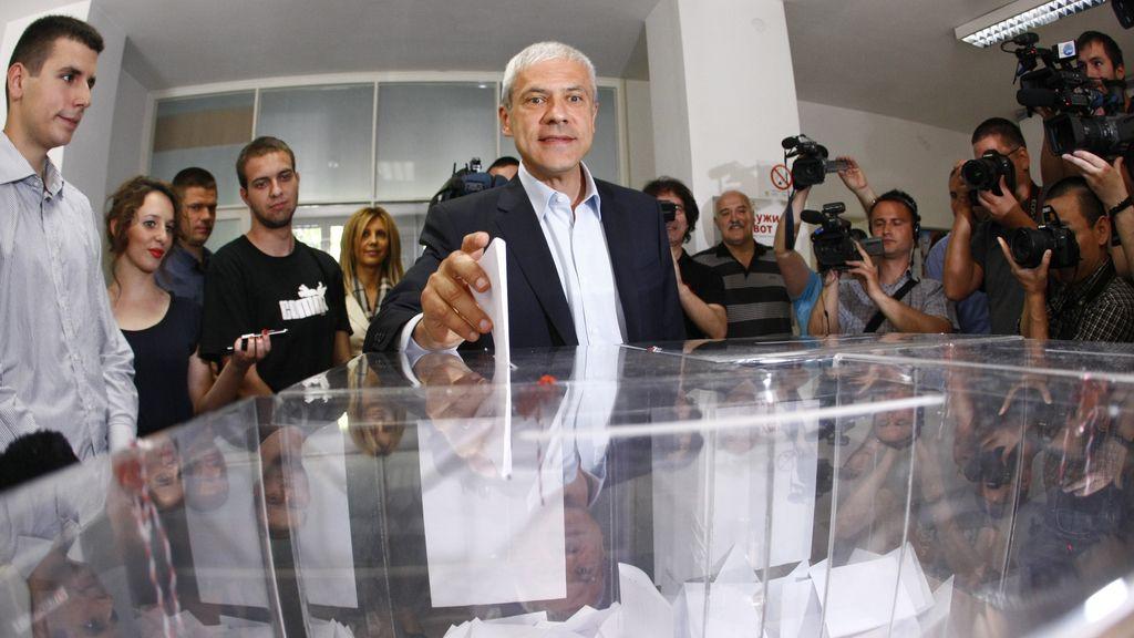 Votaciones Serbia