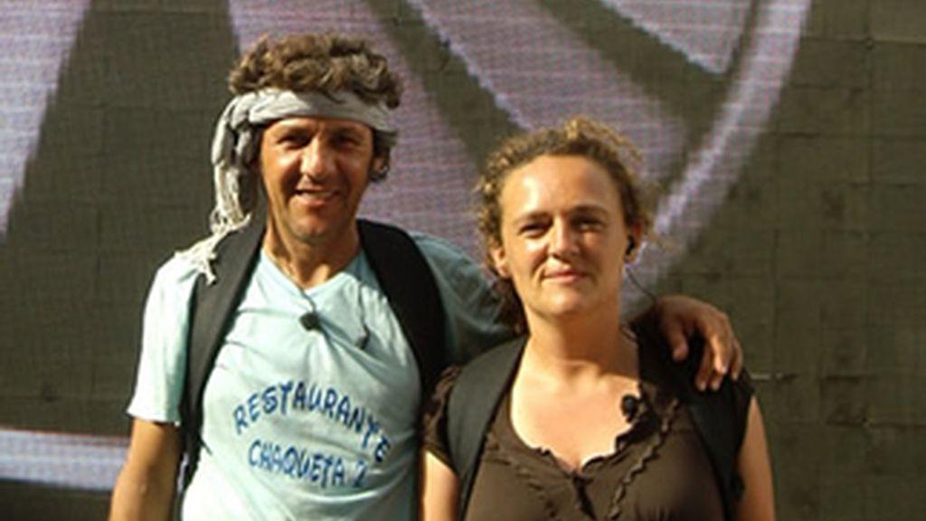 Carmela y Antonio, ganadores