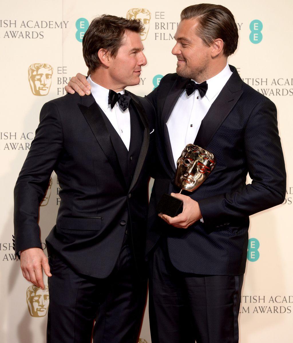 Tom Cruise y leonardo DiCaprio