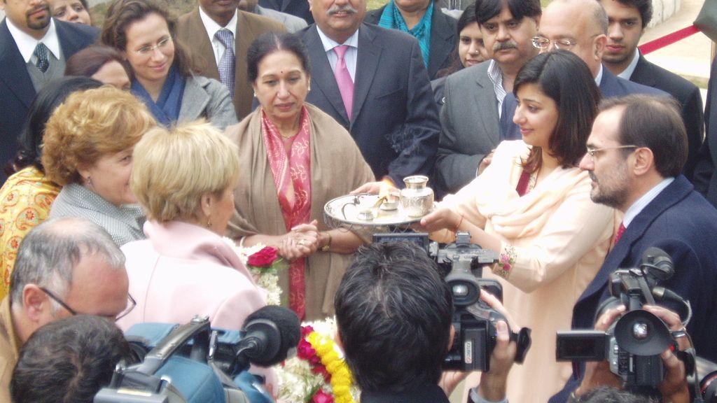 Día 1 Visita oficial de la Videpresidenta a la India.