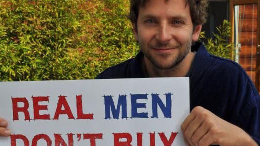 Bradley Cooper apoya la campaña