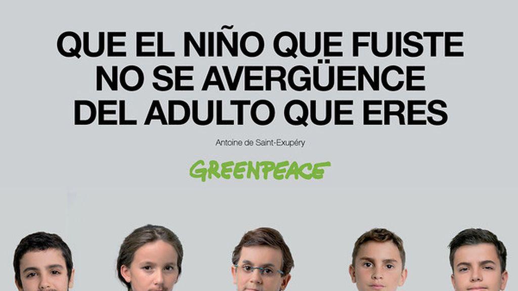 Los niños se convierten en políticos para reclamar que no se olviden del medio ambiente