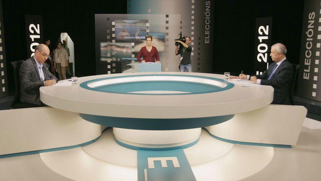 Debate electoral en Galicia
