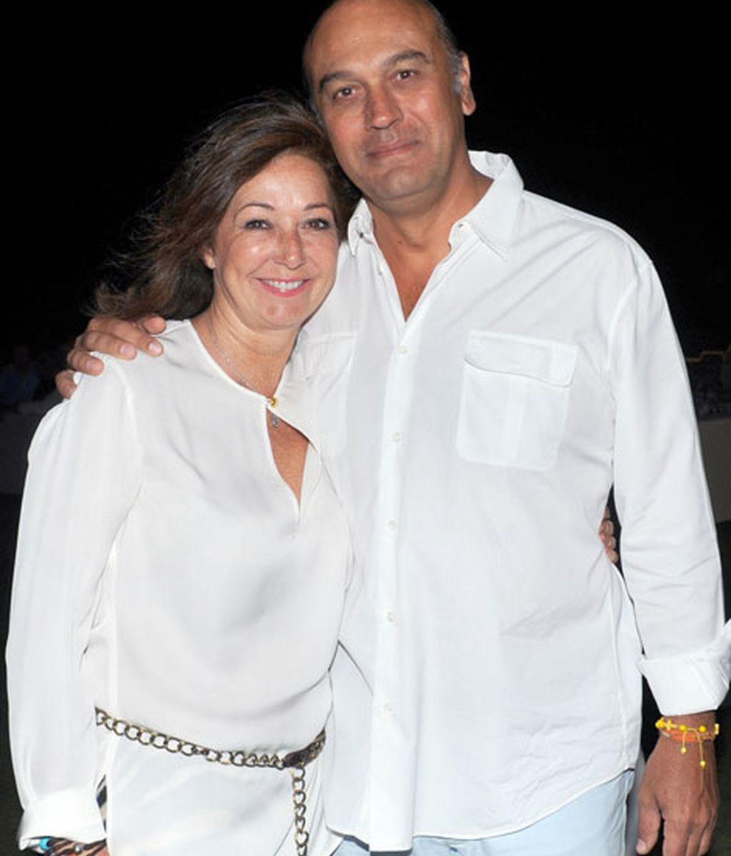 Ana Rosa Quintana y Juan Muñoz se casaron en 2004