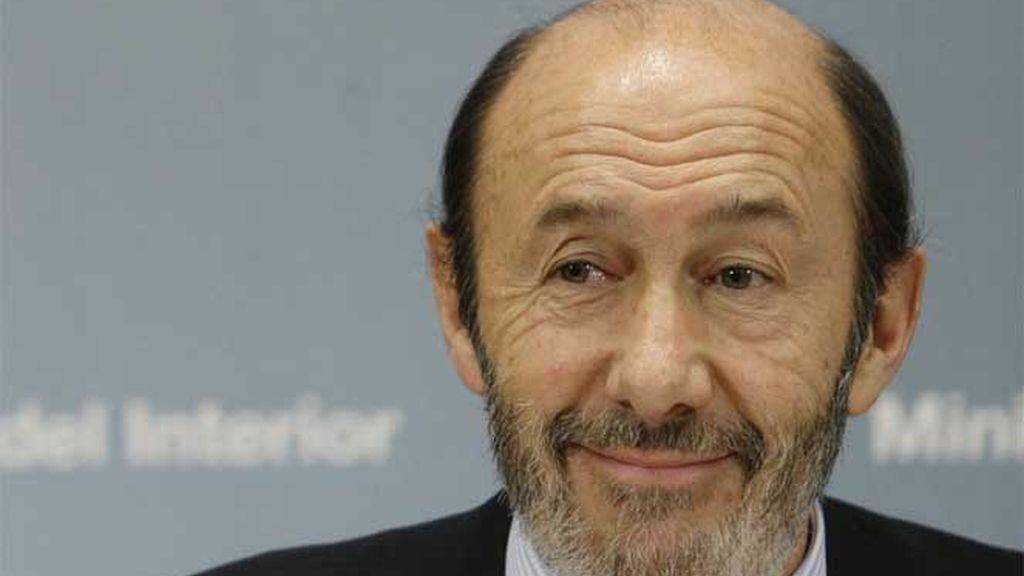 Alfredo Pérez Rubalcaba, ministro del Interior