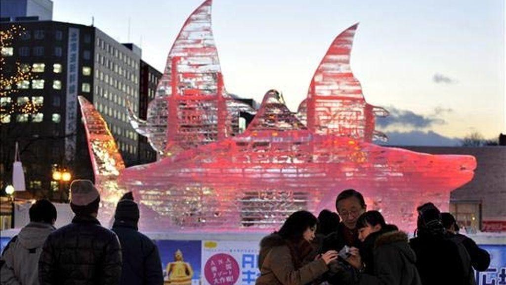 Inaugurada la 60 edición del Festival de la Nieve de Sapporo
