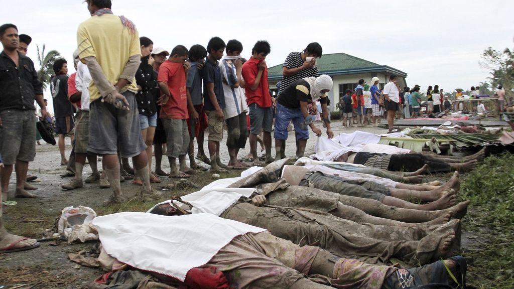 El Tifón 'Pablo' arrasa Filipinas