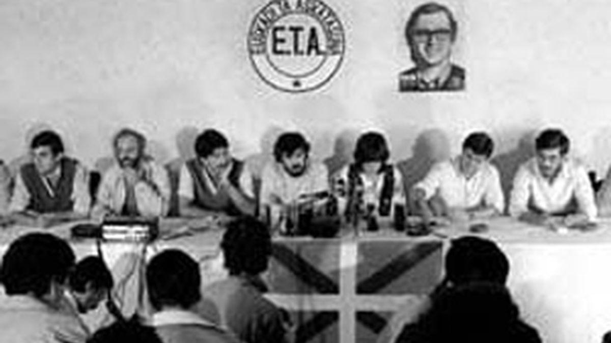 VII Asamblea de ETA politíco-militar del 30-9-1982, en Francia. Foto: EFE