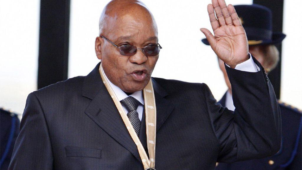 Zuma jurando cargo
