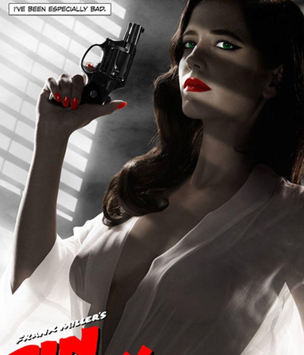El cartel de Eva Grenn semidesnuda en 'Sin City', censurado en EEUU