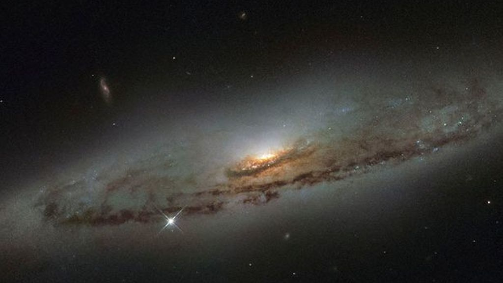 La galaxia situada en la constelación de virgo