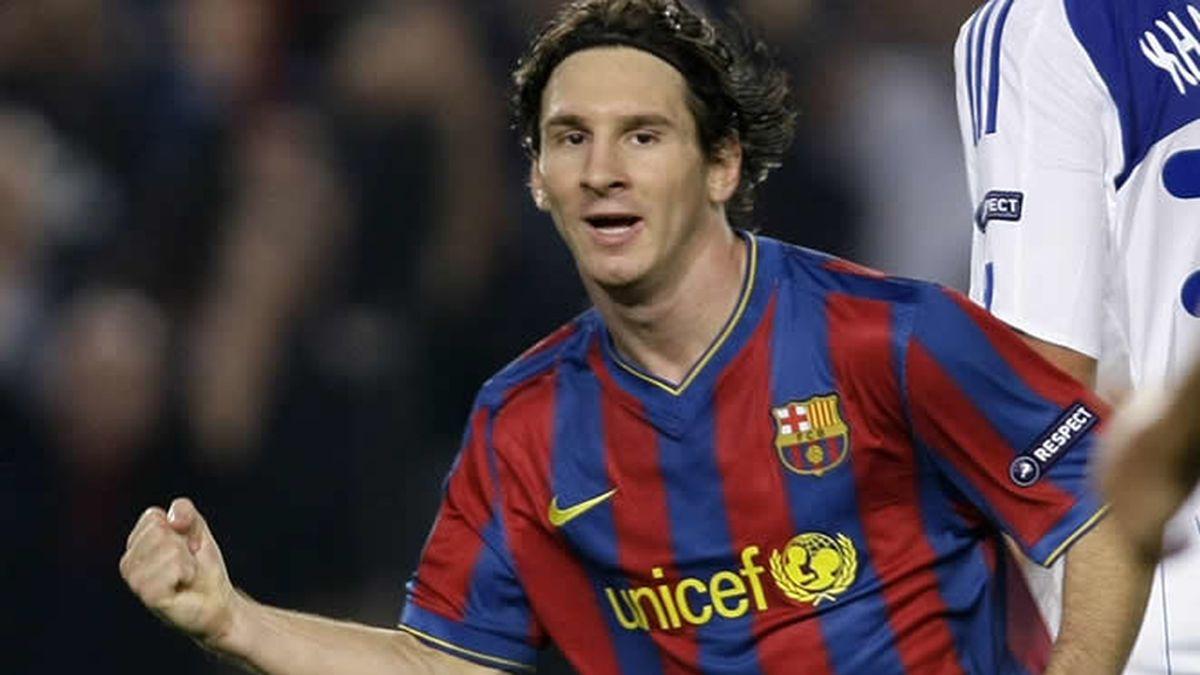 Messi estuvo algo flojo
