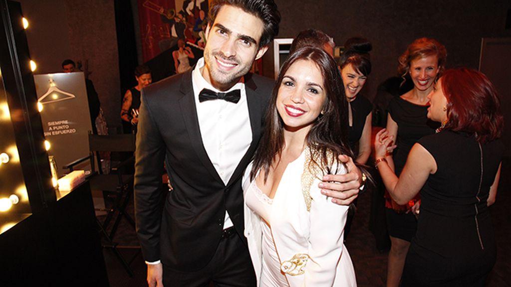Juan Betancourt y Elena Furiase