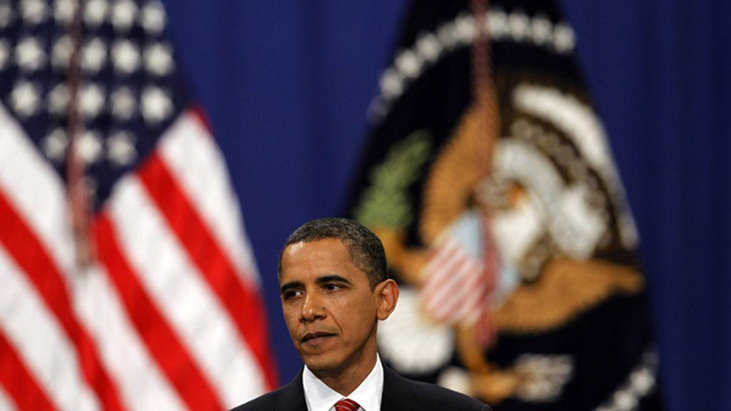 Obama durante su discurso