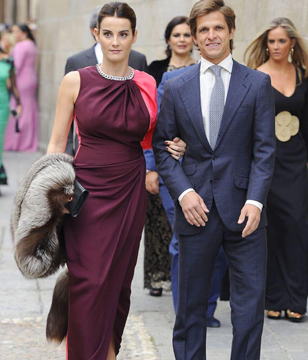 El Juli y su mujer, Rosario Domeq, embarazada de su tercer hijo
