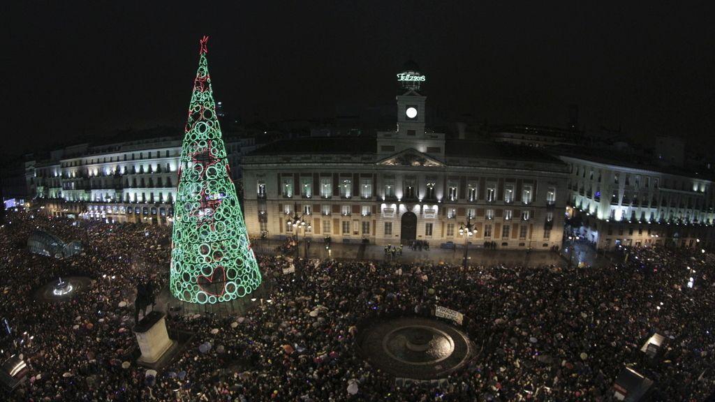La madrileña Puerta del Sol