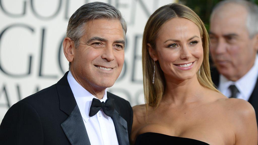 George Clooney y Stacy Keibler