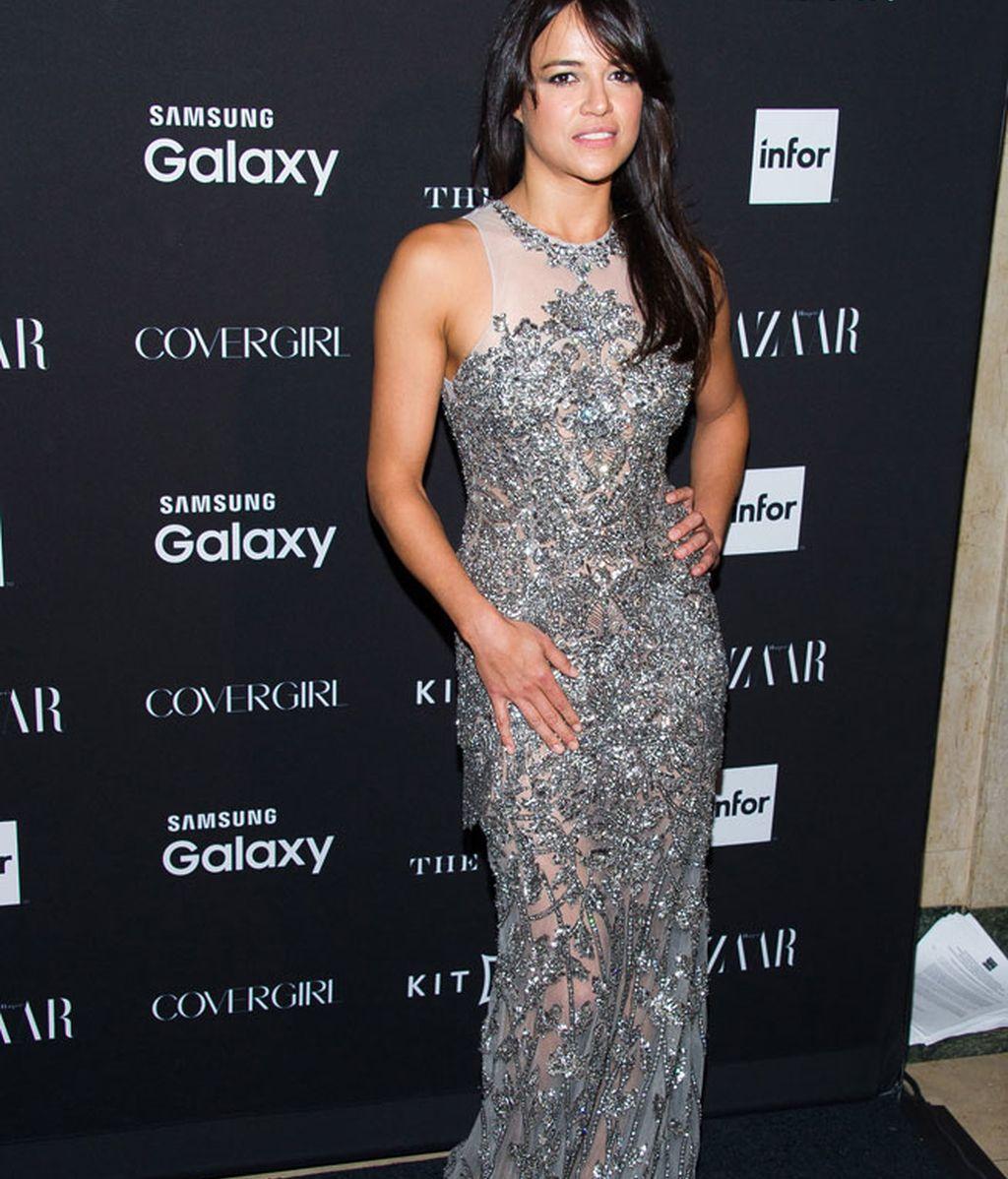 Michelle Rodríguez, con un Gabriela Cadena