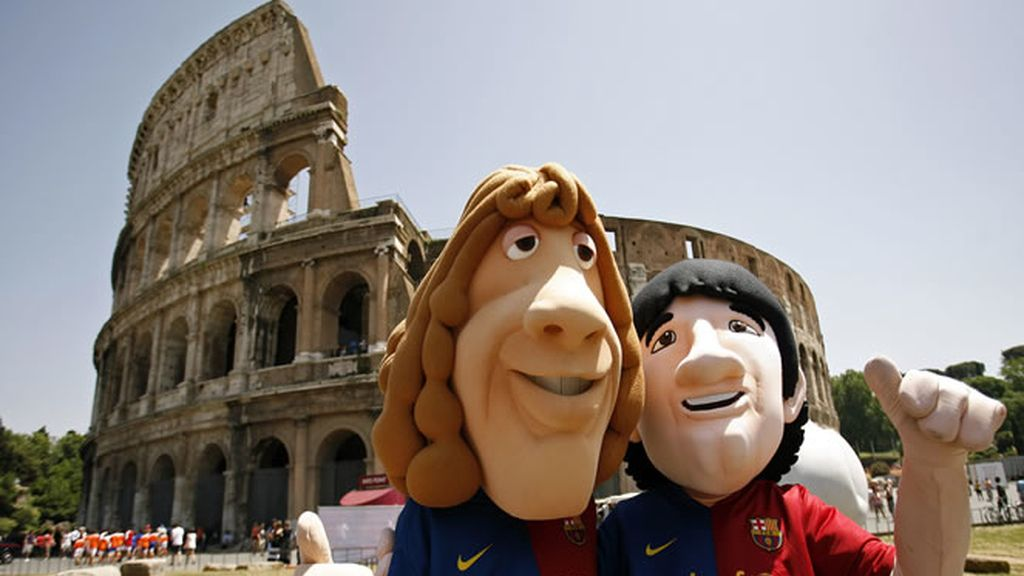 El alirón culé ya está en Roma