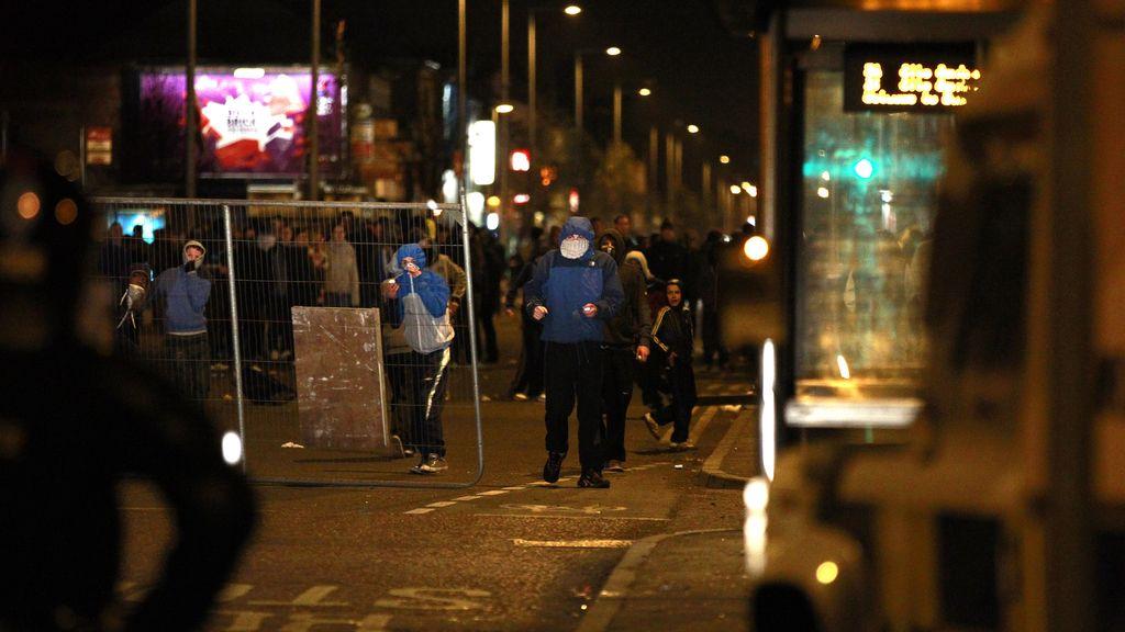 Disturbios en Belfast