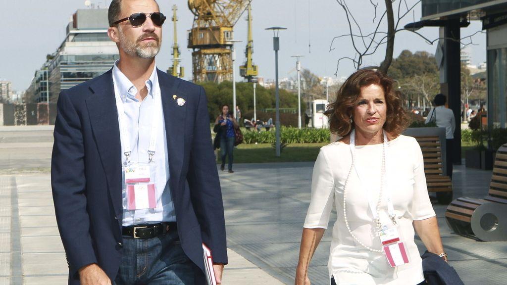 El Príncipe Felipe en Argentina para apoyar la candidatura de Madrid 2020